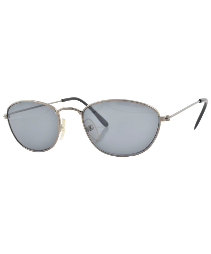 emerge gunmetal sunglasses