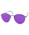 emf purple sunglasses