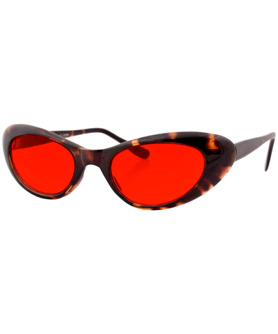 emkay demi red sunglasses