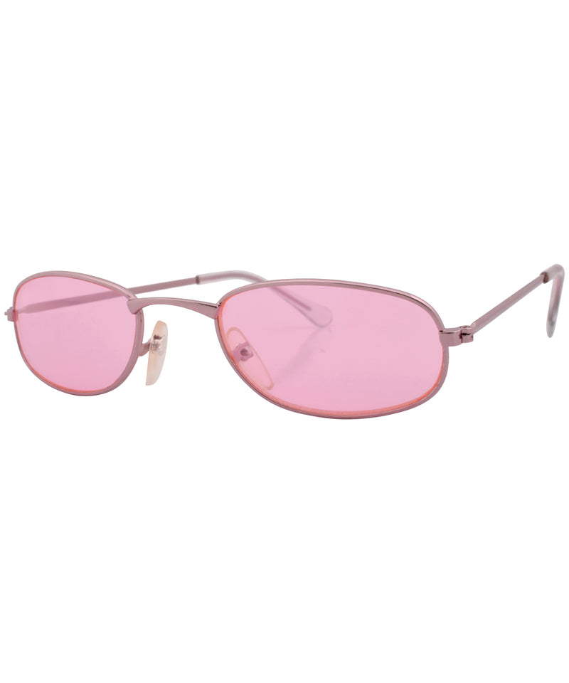 emotion pink pink sunglasses