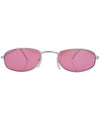 emotion silver pink sunglasses