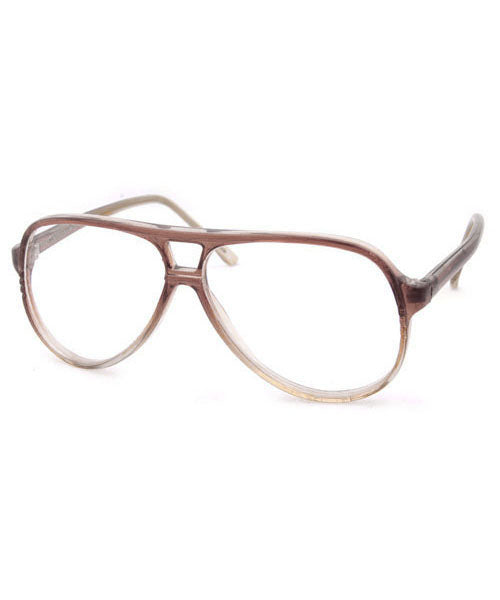 esquire brown clear sunglasses