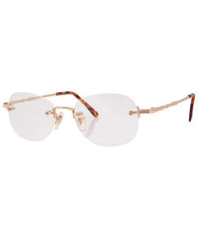 essence clear gold sunglasses
