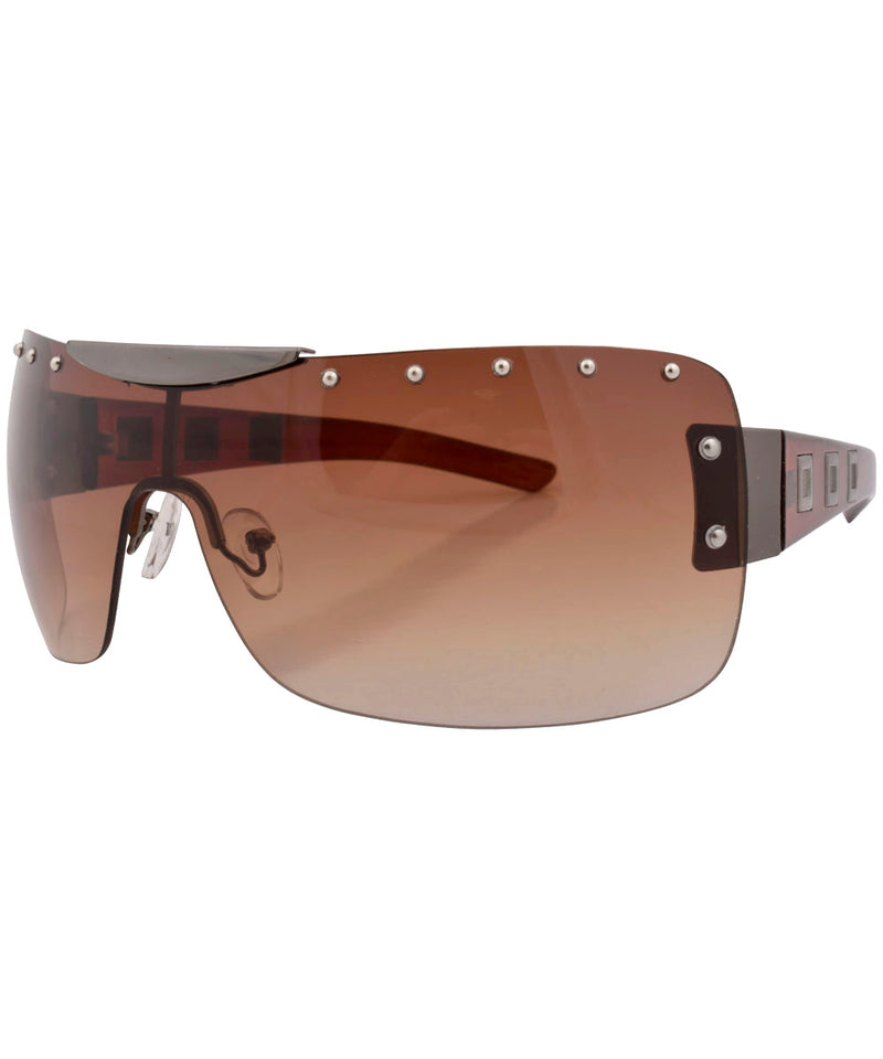 eurobeat brown sunglasses