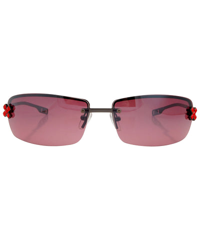 excess red sunglasses