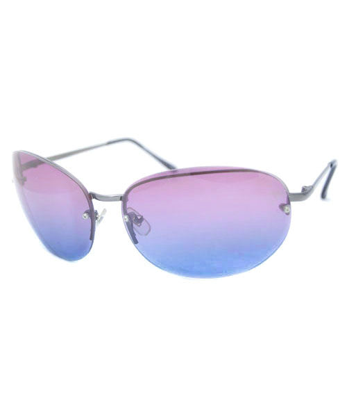 face pink blue sunglasses