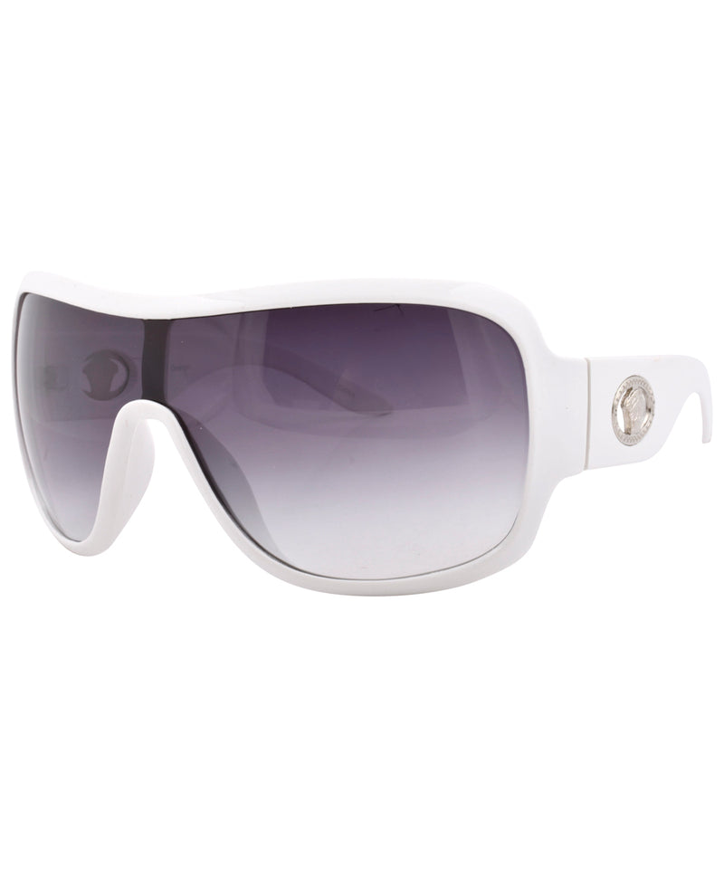 fame white sunglasses