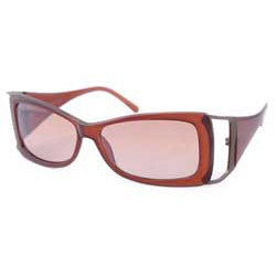 fash on crystal brown sunglasses