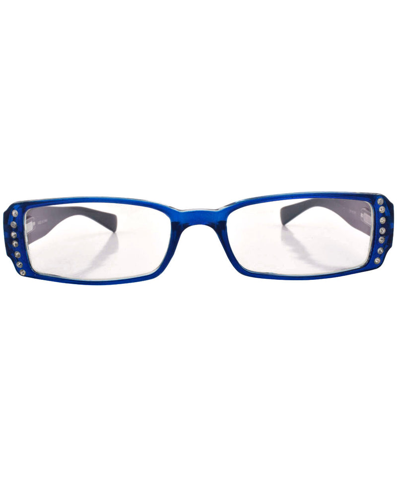 fiction blue sunglasses