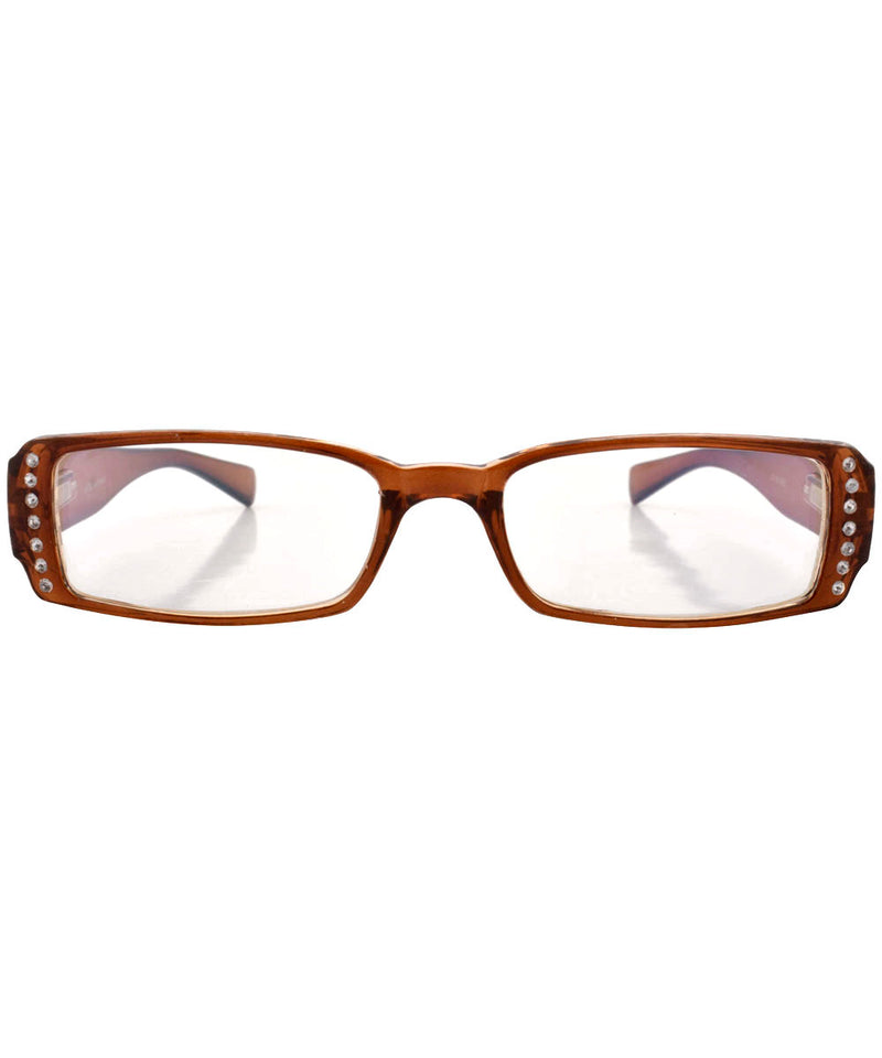 fiction brown sunglasses