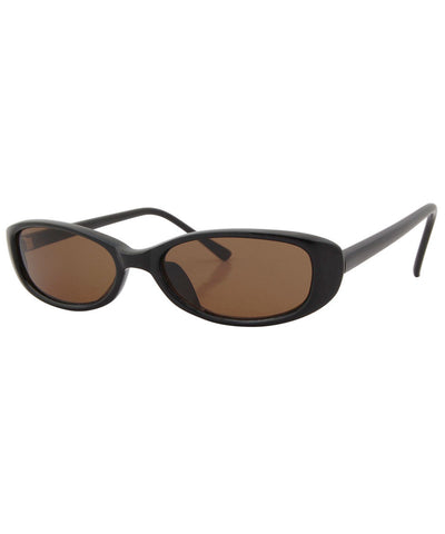 fiddle black brown sunglasses
