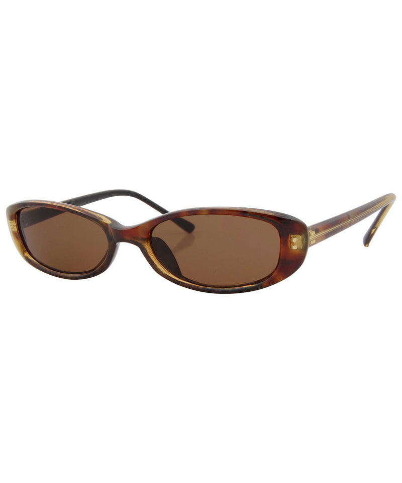 fiddle calico brown sunglasses