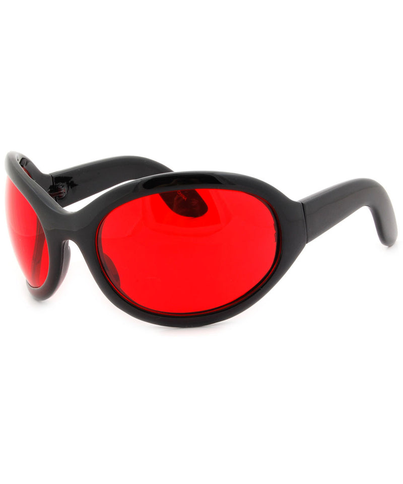 sixty seven red sunglasses