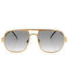 fillmore gold smoke sunglasses