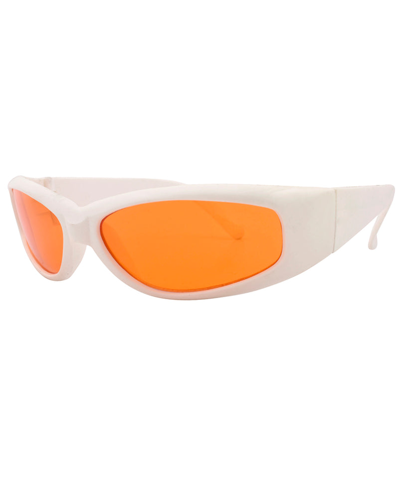 fire orange sunglasses