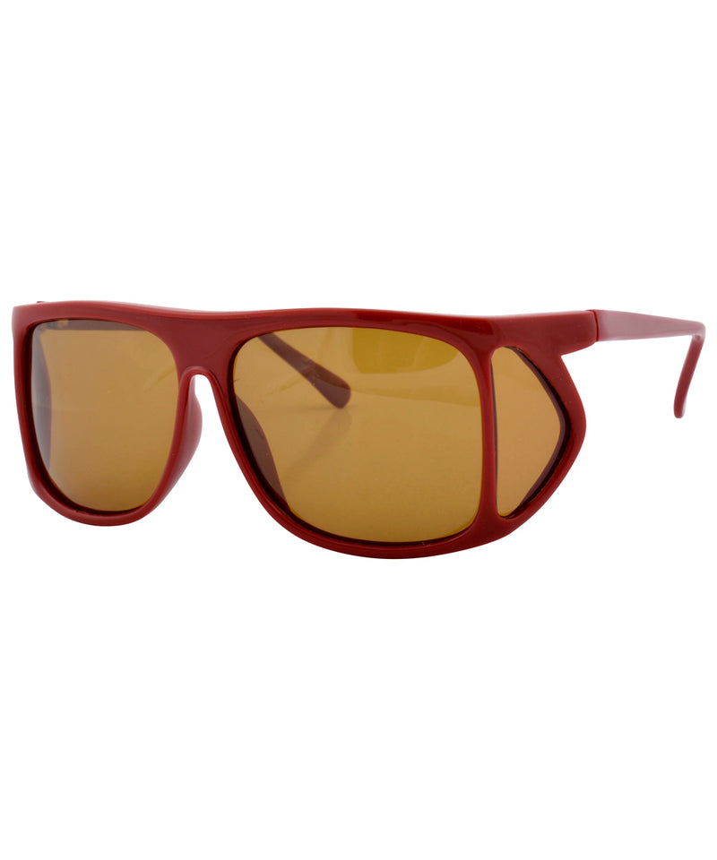 fishin red sunglasses