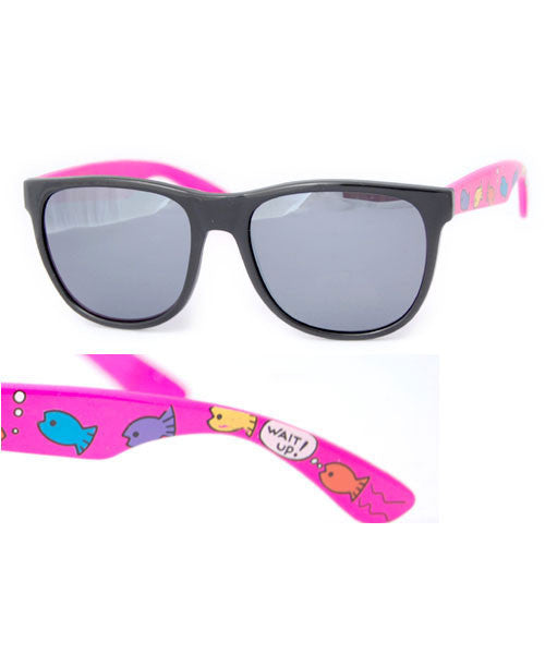 fishway pink sunglasses