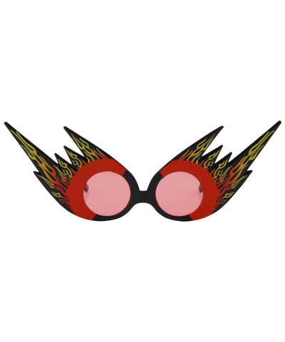 flamers red sunglasses
