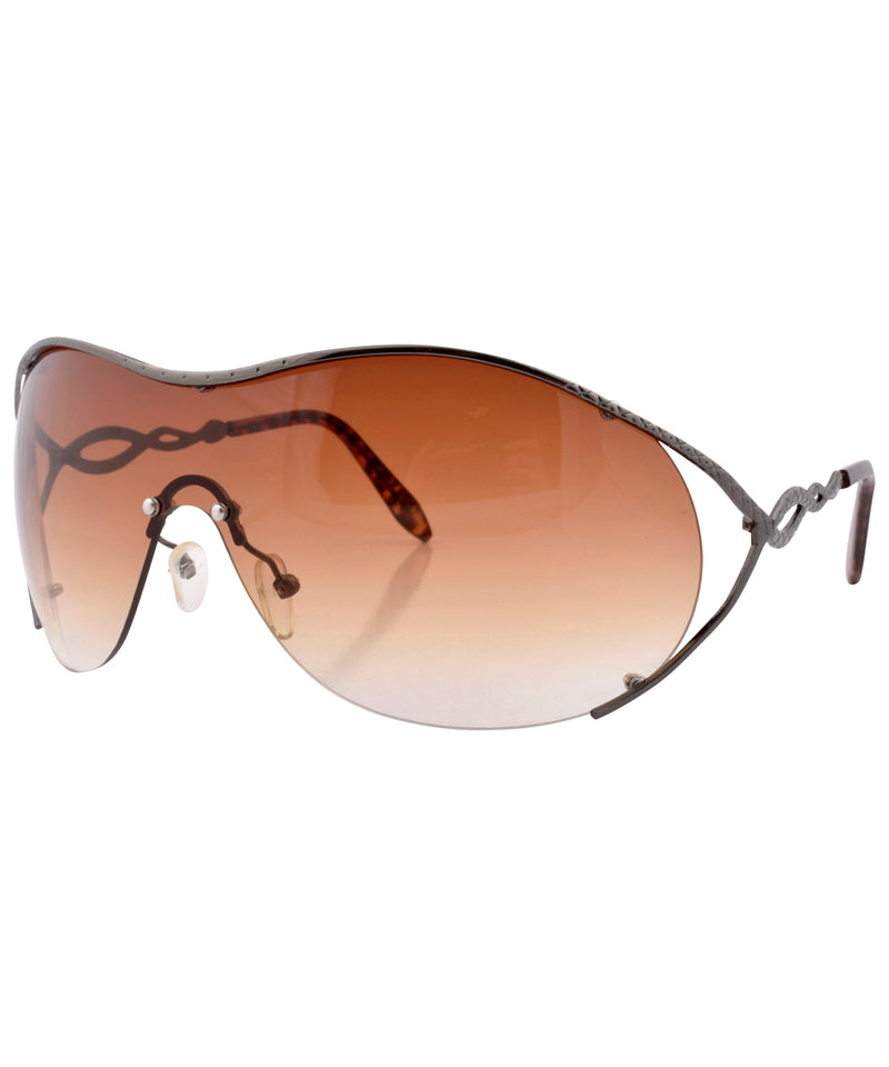 flavor gun brown sunglasses