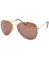 flights gold sunglasses