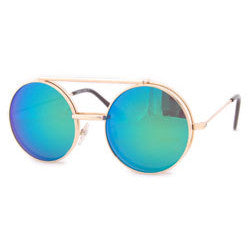 flip sea gold aqua sunglasses