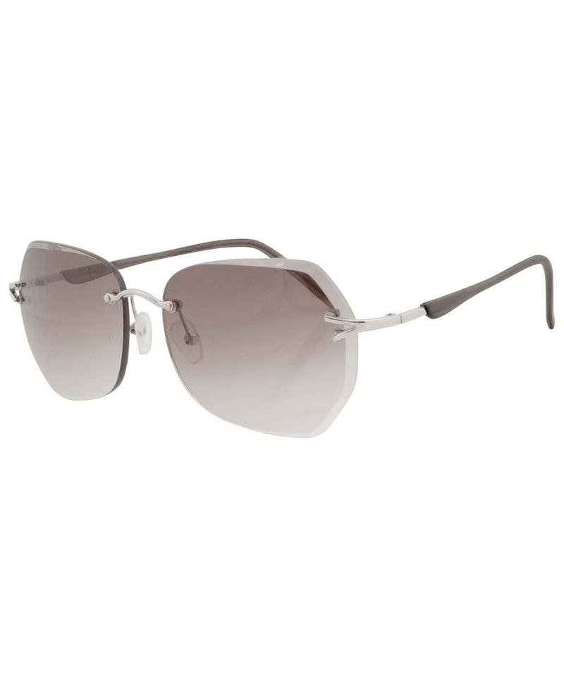 FLIT Smoke Rimless Sunglasses