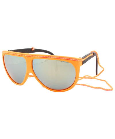 fluoropa orange sunglasses