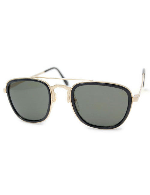 flynn black sunglasses