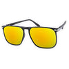 franco black gold mirror sunglasses