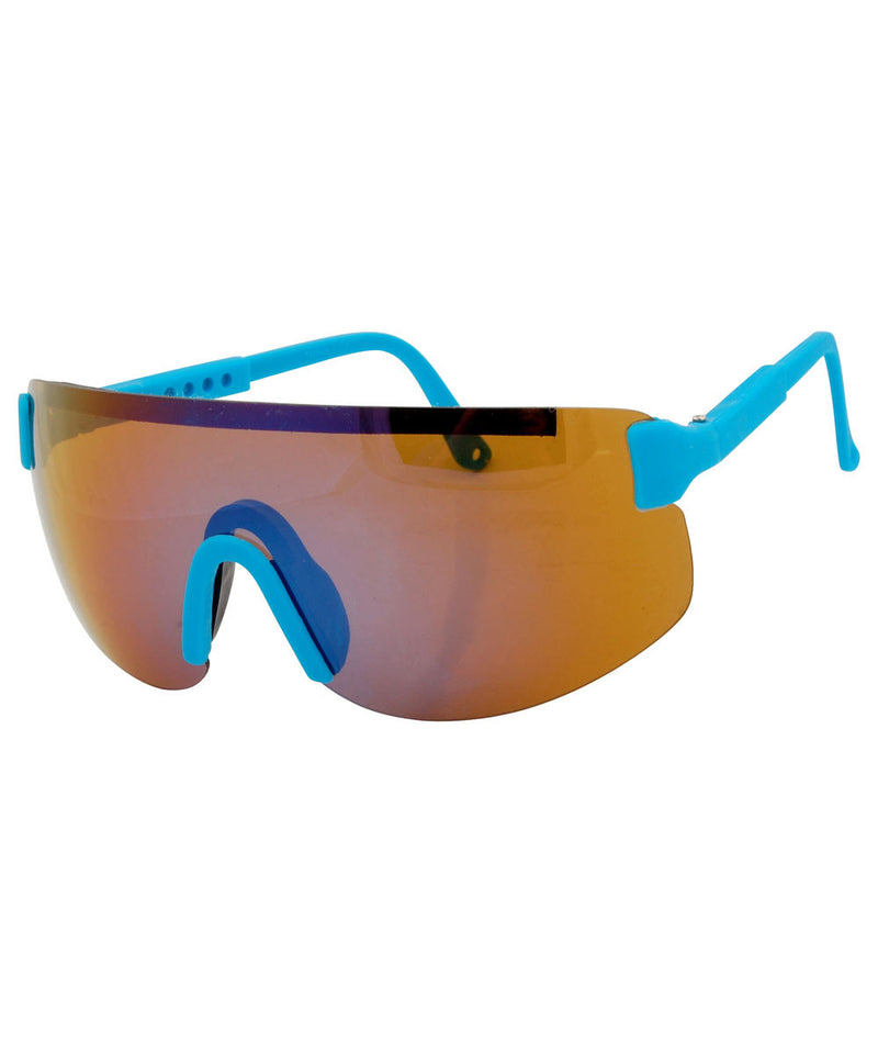 fresh blue sunglasses