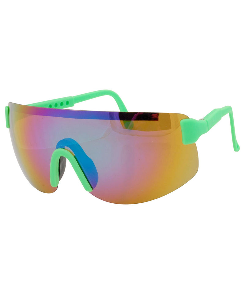 fresh green sunglasses