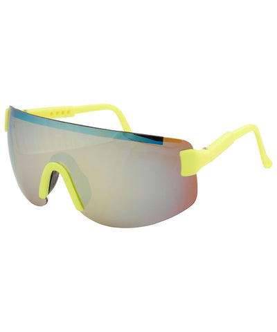 fresh yellow sunglasses