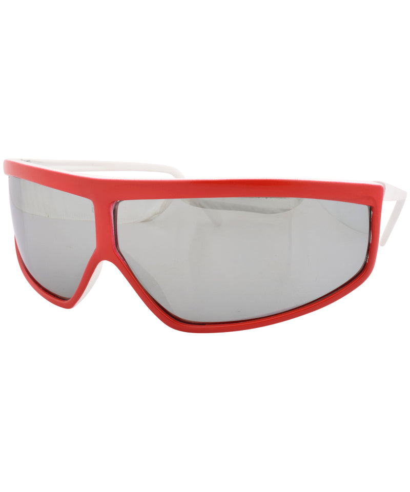 friction red sunglasses