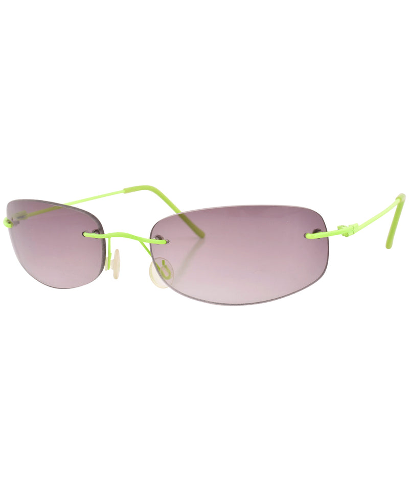 fruities green sunglasses