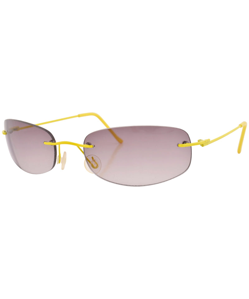 fruities yellow sunglasses