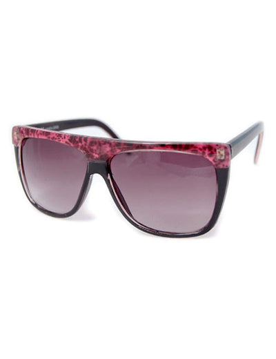full set black pink sunglasses