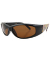 fumes black brown sunglasses
