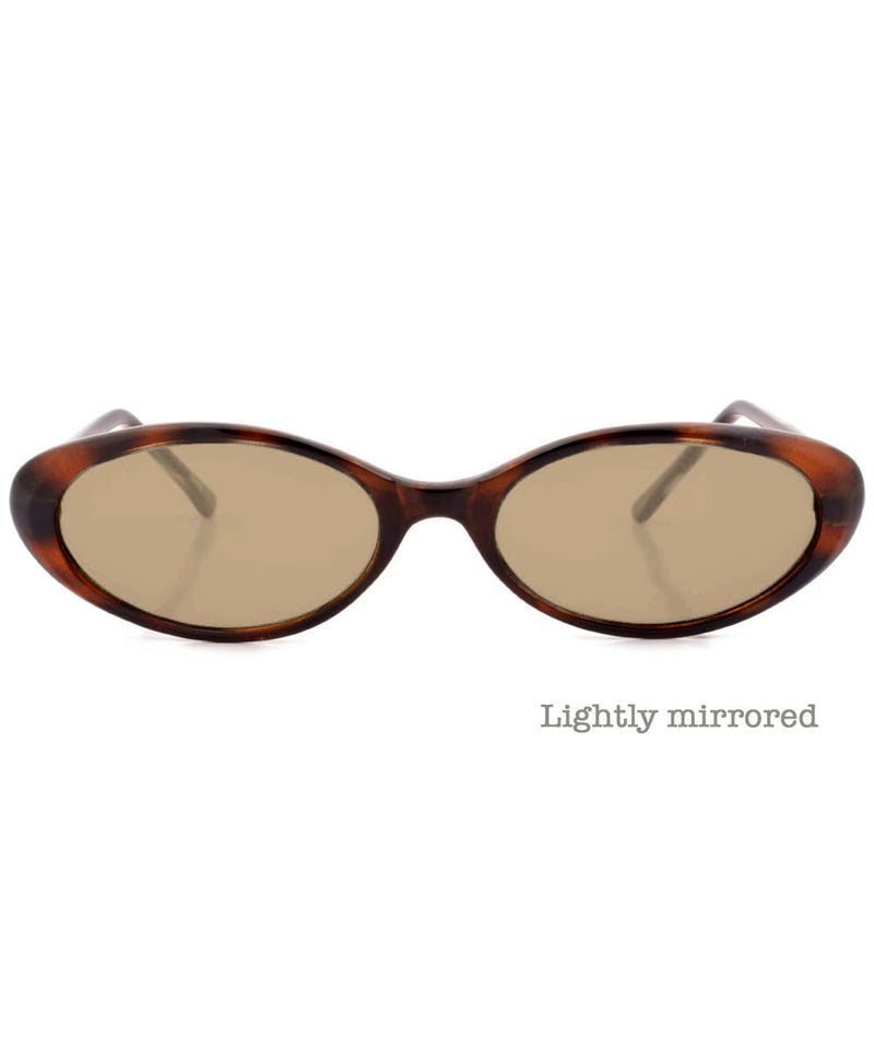 funked demi brown sunglasses