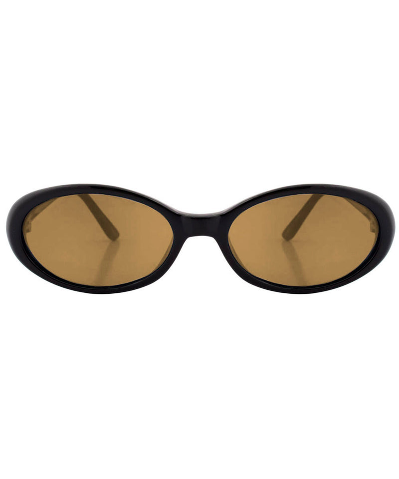 funked black brown sunglasses