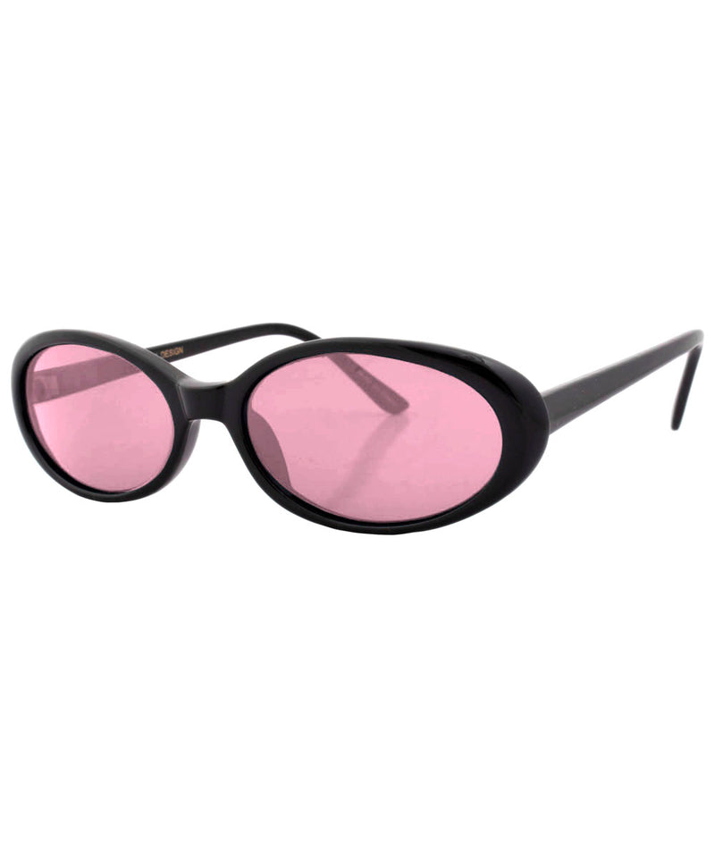 funked black pink sunglasses