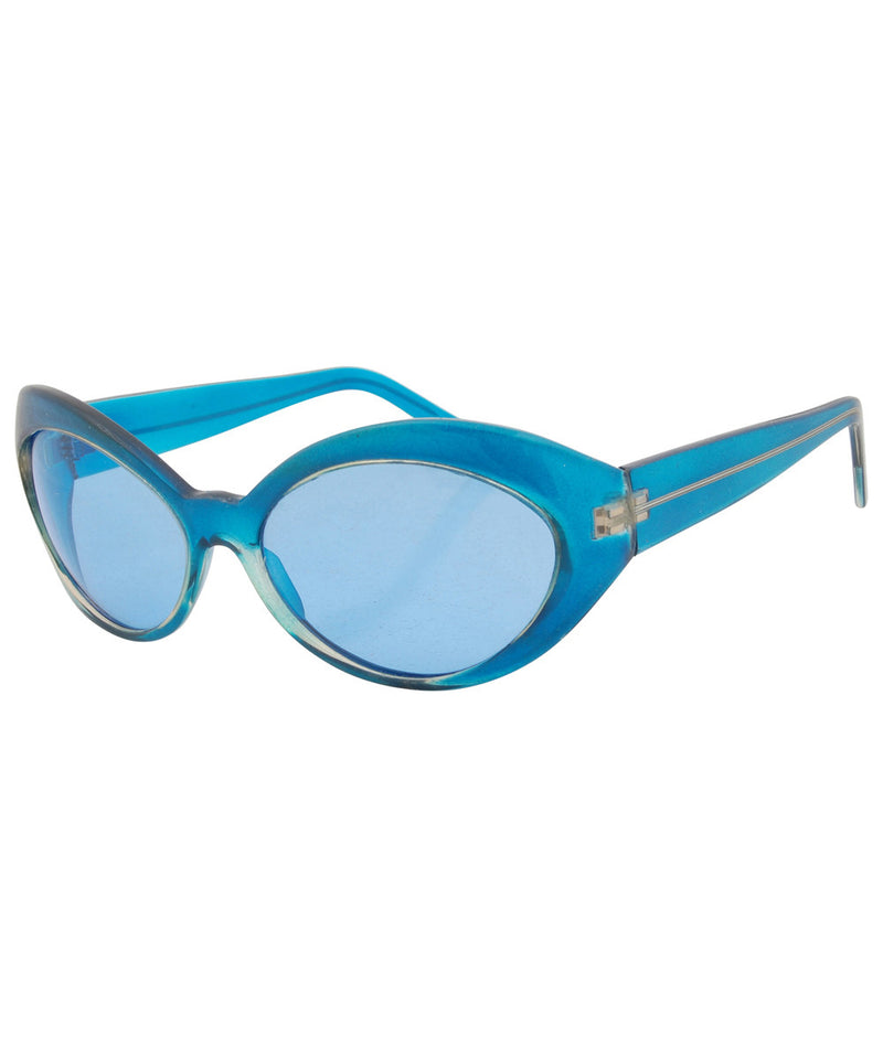 futurefox blue sunglasses