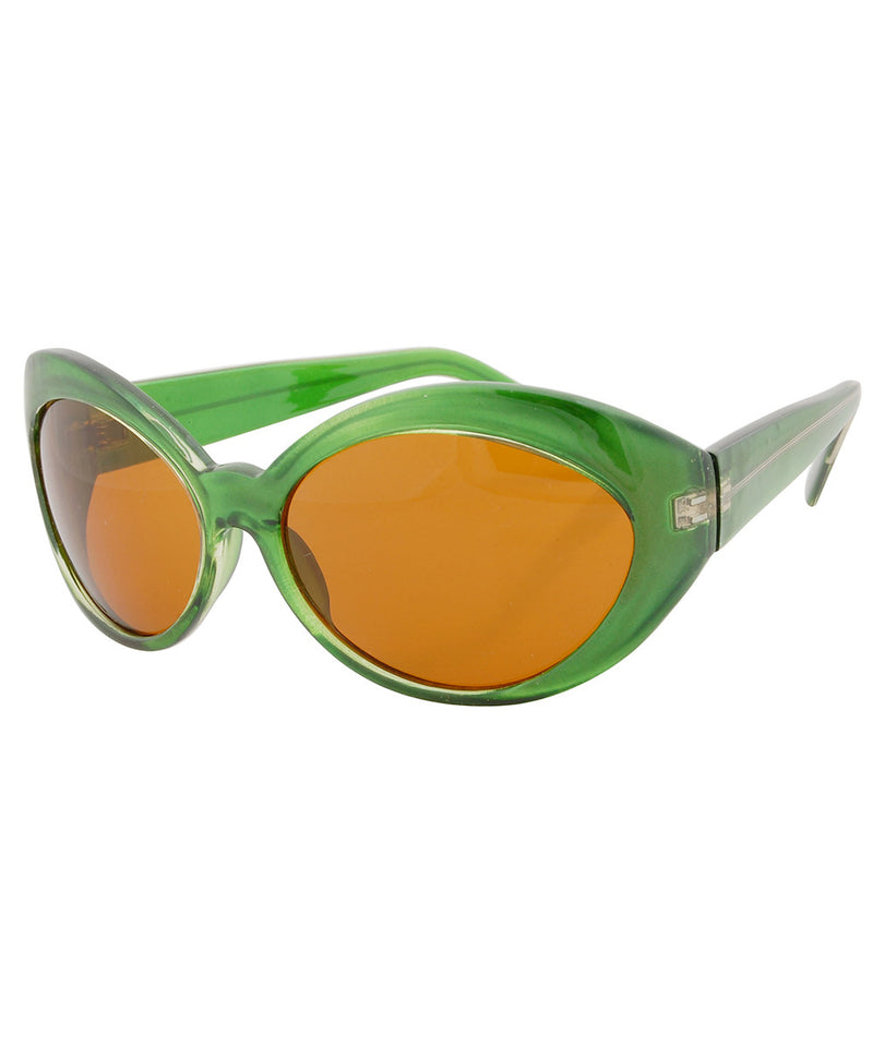 futurefox green sunglasses