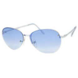 gemini blue sunglasses