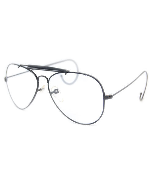 ALAN Black Clear Glasses