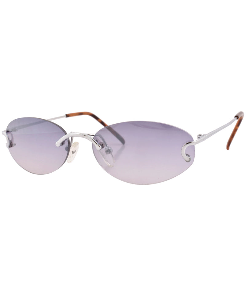 gianni silver smoke sunglasses