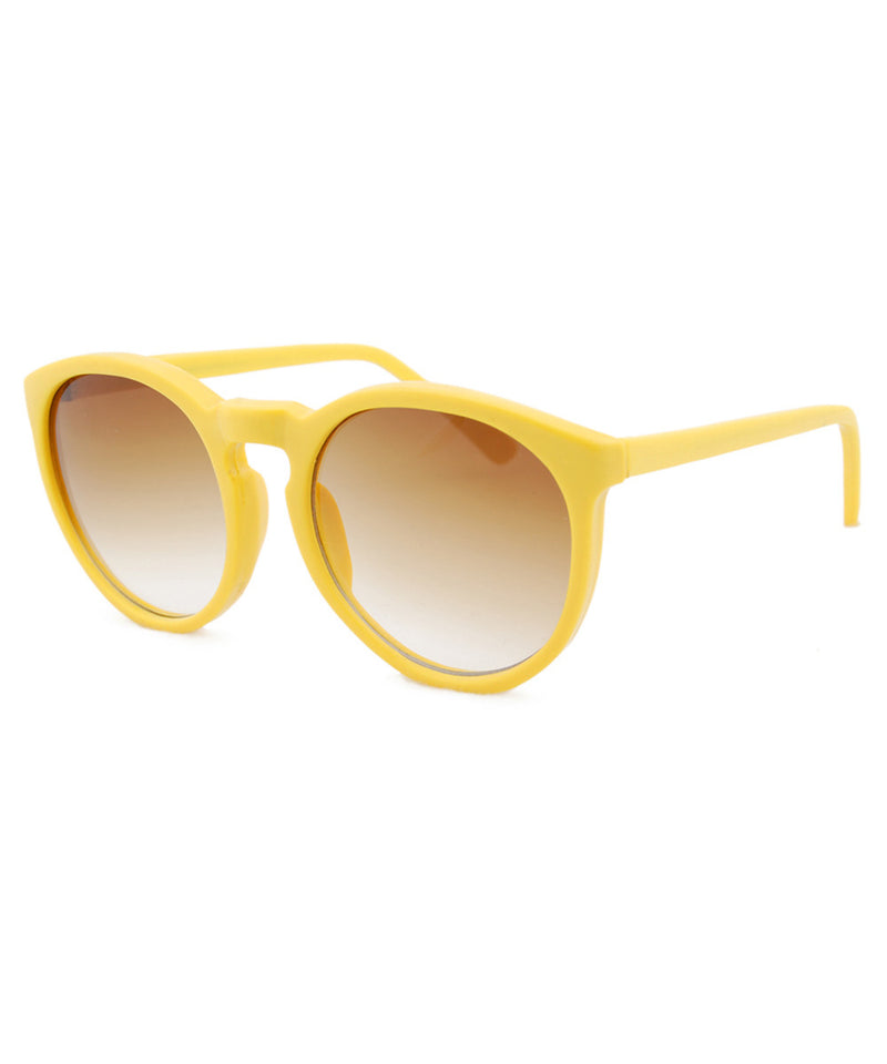 gift yellow sunglasses
