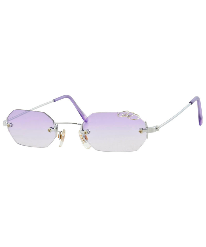gnarly purple sunglasses