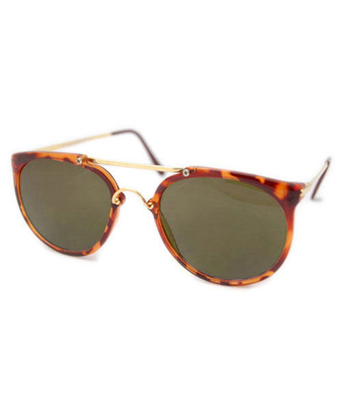 go getter demi gold sunglasses