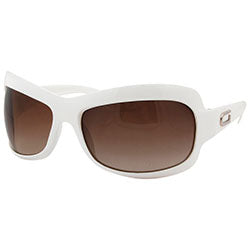 gogo white sunglasses