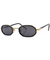 hominy black gold sunglasses